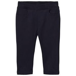 Petit Bateau Unisex Bottoms Blue Soft Pants Marine