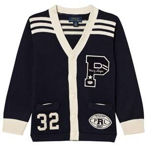 Ralph Lauren Boys Jumpers and knitwear Navy Navy Varsity Cardigan