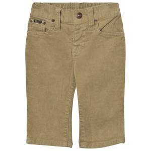 Ralph Lauren Boys Bottoms Beige Beige Corduroy Pants