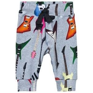 Molo Boys Jumpers and knitwear Grey Solomi Soft Pants Rock Guitar