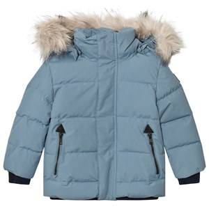 Molo Unisex Coats and jackets Blue Herbert Jacket Bluestone
