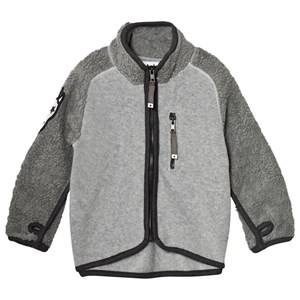 Molo Unisex Fleeces Grey Rock Fleece Jacket Grey Melange