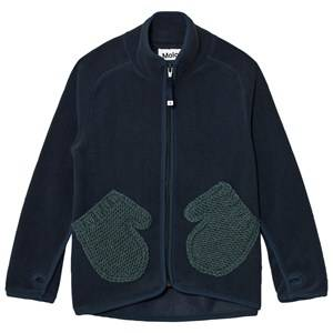 Molo Unisex Fleeces Navy Ushi Fleece Jacket Midnight Navy