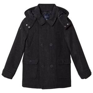 Mayoral Boys Coats and jackets Grey Grey Flannel Hooded Coat