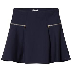Mayoral Girls Skirts Navy Navy Zip Detail Skirt