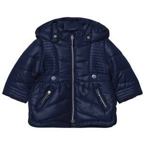Mayoral Girls Coats and jackets Navy Navy Hooded Puffer Coat