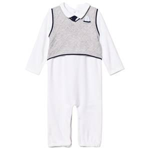 Mayoral Boys All in ones Grey Grey Knitted Vest Effect One-Piece