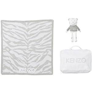 Kenzo Unisex All in ones Grey Grey Tiger Blanket Bear Gift Set