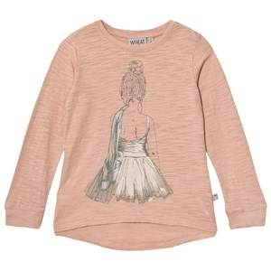 Wheat Girls Tops Pink Ballerina Tee Misty Rose