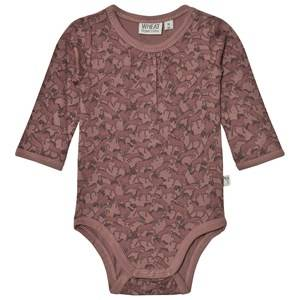 Wheat Girls All in ones Red Baby Body Liv Dusty Rouge