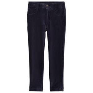 Mayoral Girls Bottoms Navy Navy Stretch Cord Jeggings