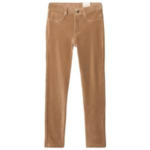 Mayoral Girls Bottoms Beige Camel Stretch Cord Jeggings