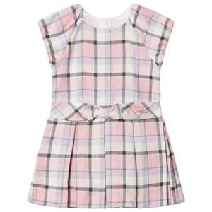 Mayoral Girls Dresses Pink Pink Plaid Dress