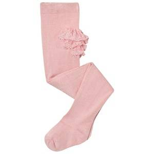 Mayoral Girls Underwear Pink Pink Ruffle Tights