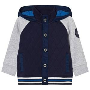 Timberland Boys Jumpers and knitwear Navy Navy Quilted Hoodie