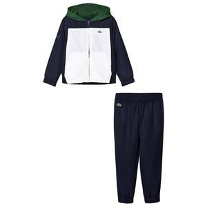 Lacoste Boys Clothing sets Navy Colorblock Tracksuit