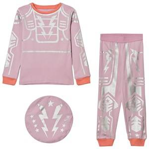 Stella McCartney Kids Girls Nightwear Pink Pink Robot Andrea Pyjamas