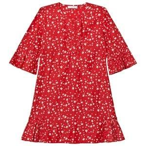 Stella McCartney Kids Girls Dresses Red Red Christmas Print Abbie Dress