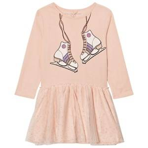 Stella McCartney Kids Girls Dresses Pink Pale Pink Skate Primrose Dress