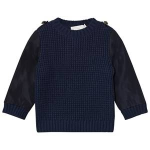 Stella McCartney Kids Boys Jumpers and knitwear Navy Navy Apollo Knit Jumper