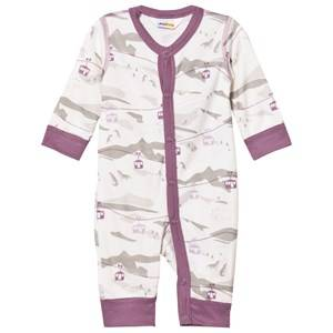 Joha Unisex All in ones Purple Cable Car One-Piece Purple