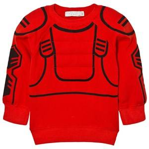 Stella McCartney Kids Boys Jumpers and knitwear Red Red Rowbow Robot Sweatshirt