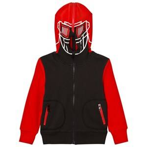 Stella McCartney Kids Boys Jumpers and knitwear Red Black and Red Hockey Player Bandit Hoody