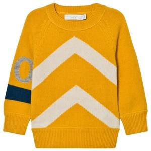 Stella McCartney Kids Boys Jumpers and knitwear Yellow Yellow Go Go Jumper