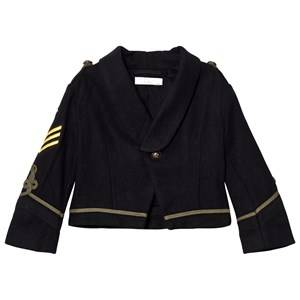 Stella McCartney Kids Boys Coats and jackets Black Black Lee Military Jacket