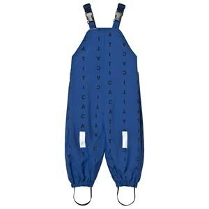 Tinycottons Boys Bottoms Blue Alphabet Soup Snow Pants Blue/Dark Navy