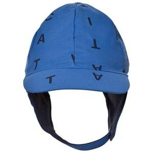 Tinycottons Unisex Headwear Blue Alphabet Soup Snow Hat Blue/Dark Navy