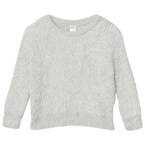 Tinycottons Unisex Jumpers and knitwear Blue Hairy Sweater Light Blue