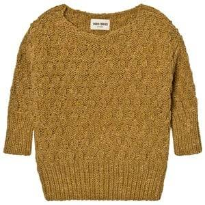 Bobo Choses Unisex Jumpers and knitwear Yellow Octopus Knitted Jumper