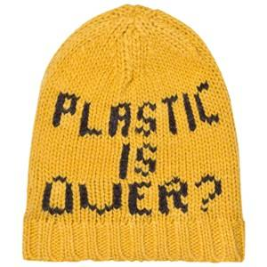 Bobo Choses Unisex Headwear Yellow Plastic is Over? Gold Beanie