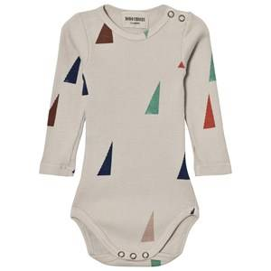 Bobo Choses Unisex All in ones Beige Baby Body Sails