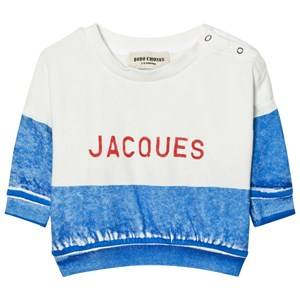 Bobo Choses Unisex Jumpers and knitwear Blue Jacques Baby Boat Sweatshirt