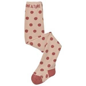 Mini A Ture Girls Underwear Pink Elka Tights Withered Rose