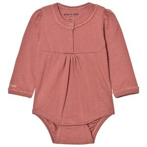 Mini A Ture Girls All in ones Pink Elinore Baby Body Withered Rose
