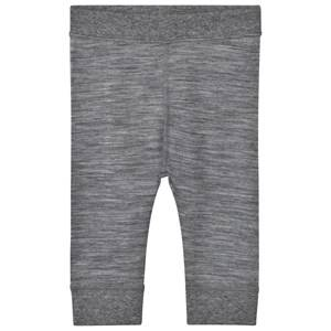 Hust&Claire; Unisex Bottoms Grey Bamboo Leggings Wool Grey