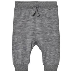 Hust&Claire; Unisex Bottoms Grey Bamboo Sweatpants Wool Grey