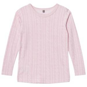 Hust&Claire; Girls Tops Pink Cable T-Shirt Rose
