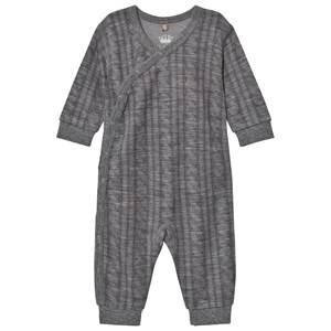 Hust&Claire; Unisex All in ones Grey Cable One-Piece Wool Grey