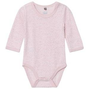 Hust&Claire; Girls All in ones Pink Spotted Baby Body Rose