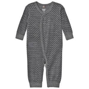 Hust&Claire; Unisex All in ones Grey Acorn One-Piece Wool Grey