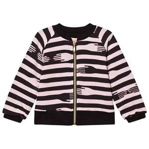 BANG BANG Copenhagen Girls Coats and jackets Pink Pink Hand Print Piper Light Bomber Jacket