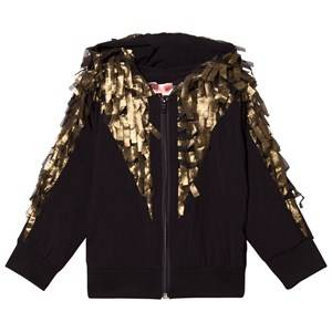 BANG BANG Copenhagen Girls Jumpers and knitwear Gold Black/Gold Confetti May Hoodie