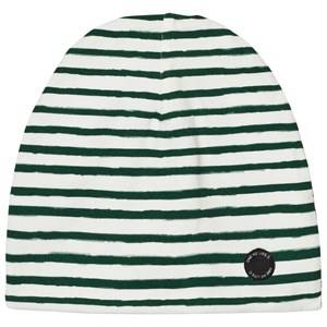 One We Like Unisex Headwear White Stripe Hat White/Green