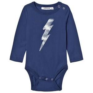 One We Like Boys All in ones Blue Flash Baby Body Twilight Blue