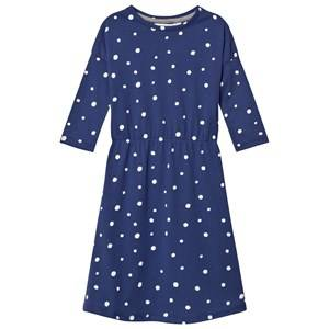 One We Like Girls Dresses Blue Pop Dress Ls Dots Aop Blue