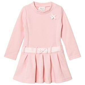 Le Chic Girls Dresses Pink Pink Pique Flower Dress